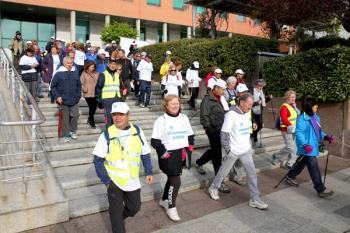 En esta marcha participaron alrededor de unas cuatrocientas personas de todas las edades