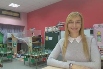 Patricia del Valle ha recibido el Premio Educa Abanca por ser la mejor en su categoría