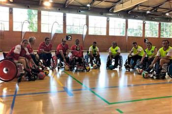 La vertiente de fútbol en silla de ruedas llega de la mano de la Fundación Accesibilidad Universal
