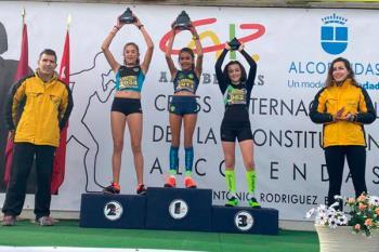 La deportista de la Asociación Atlética de Móstoles participó en la categoría Sub-12