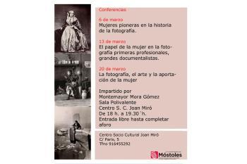 El Centro Sociocultural Joan Miró acoge tres citas que comienzan este 6 de marzo
