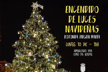 El encendido de luces que anuncia la Navidad será el lunes a las 18:00