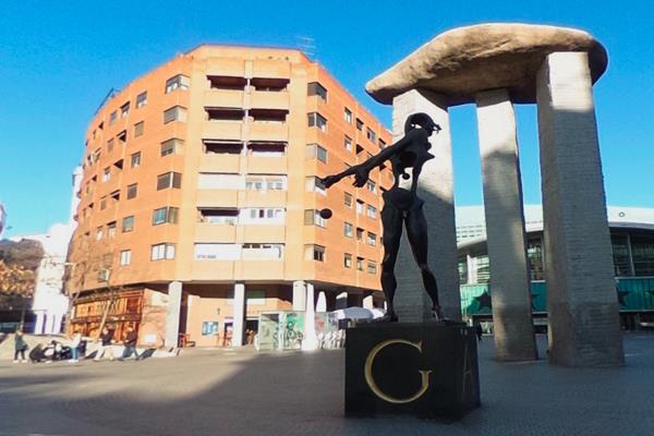 La plaza Salvador Dalí y la avenida Felipe II serán remodeladas