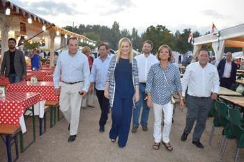 Cifuentes, Aguado y Hernández visitan el Recinto Ferial de Alcalá