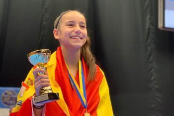 Nuestra deportista se colgó el oro en la competición celebrada en Helsinborg (Suecia)