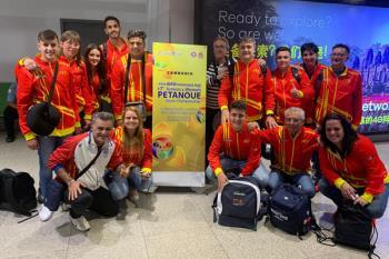 Nuestra deportista se encuentra en el sudeste asiático junto a la Selección Española