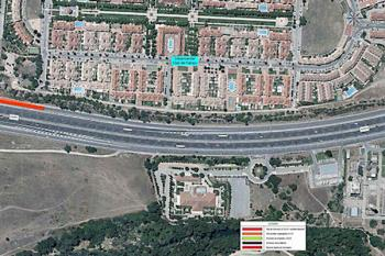 Los vecinos de la Urbanización Club del Campo se han movilizado contra este proyecto por el impacto en la zona