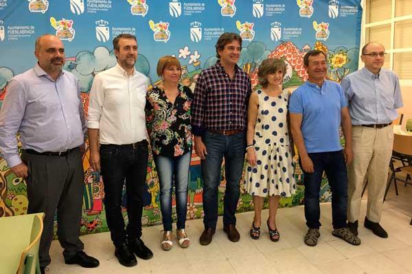 Las Fuenlicolonias reciben la visita de María Luisa Carcedo