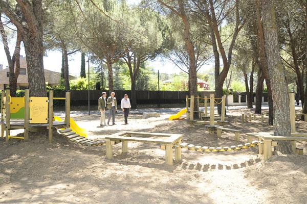 El parque ha quedado inaugurado tras su rehabilitación