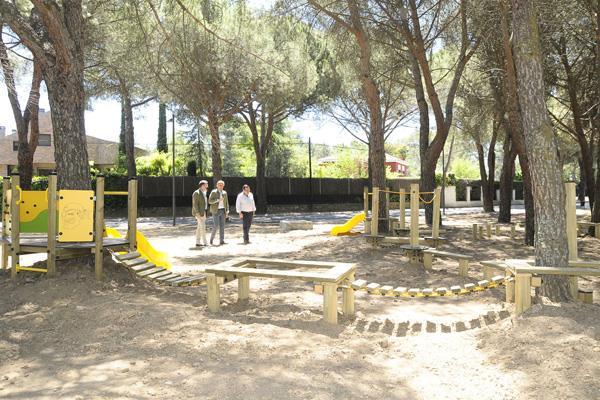 Las Lomas ya tiene su parque forestal