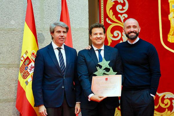 La Comunidad de Madrid reconoce la labor del consistorio roceño en el fomento del deporte