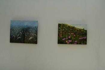 Esta tarde, las pintoras presentarán sus trabajos en la exposición del Centro 8 de Marzo