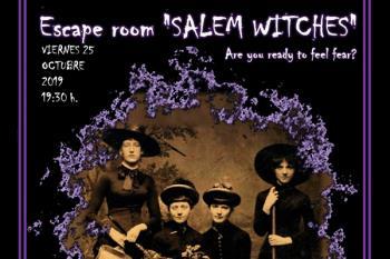 """La Asociación Germinal organiza para ellas, el Escape Room: """"SALEM WITCHES"""""""