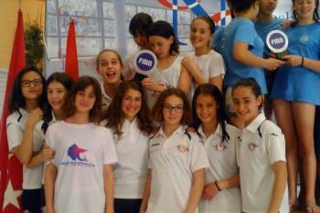 En este campeonato, celebrado en Coslada, el grupo femenino alcanzó un total de 617 puntos, fue superado por el C.D. Gredos San Diego