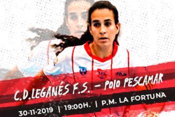 Tras la victoria en Bilbao, el Leganés F.S. quiere seguir sumando de tres en tres