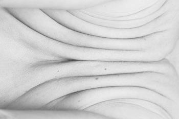"""Partes de los cuerpos de doce personas en un intento de """"descontextualización"""" del desnudo clásico"""
