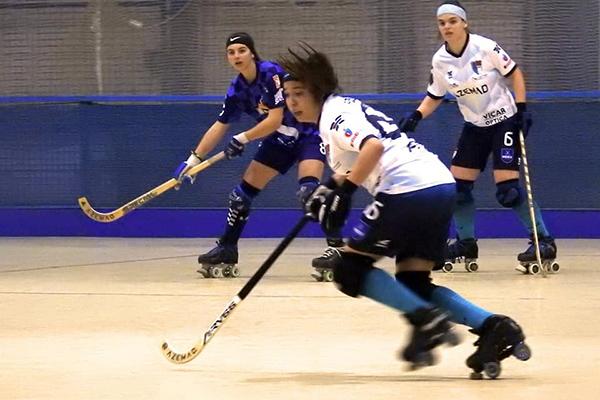 María Quesada y Sabrina golearon en un gran partido de todo el equipo