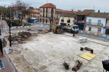 """El alcalde ha asegurado que los trabajos avanzan """"a buen ritmo"""""""