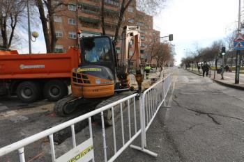 Los trabajos en la red de saneamiento obligan al Canal de Isabel II a cortar el tráfico durante cuatro semanas