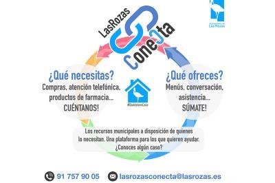 Lee toda la noticia ''Las Rozas Conecta', una plataforma para expresar necesidades y postularte como voluntario '