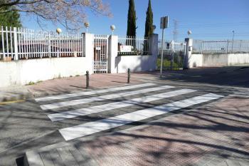 El ayuntamiento de la ciudad está realizando trabajos de mejora en la accesibilidad y seguridad