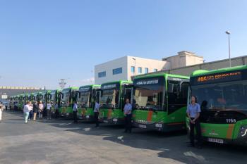 Un total de 18 autobuses se suman a la flota que conecta nuestra ciudad con la capital