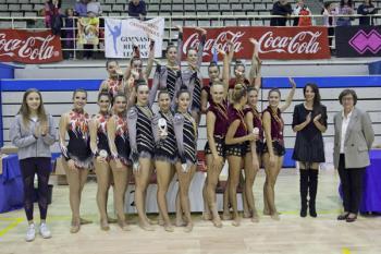 Este evento ha reunido a un total de 600 gimnastas de 40 clubes diferentes