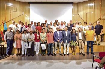 Fueron reconocidos 20 profesores de Educación Secundaria, 8 de Primaria y una de Escuela Infantil