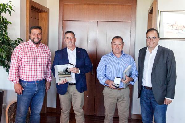 Leganés homenajea a sus judokas Manuel García y Vicente Picazo