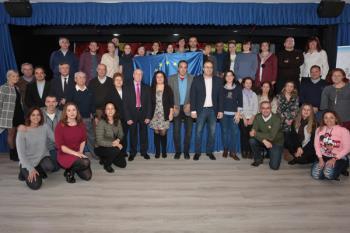 En total, 14 profesores europeos han visitado el Ayuntamiento de Leganés