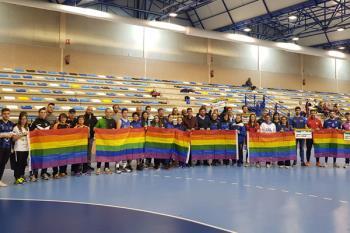 El consistorio y los clubes deportivos celebraron un acto en el Manuel Cadenas