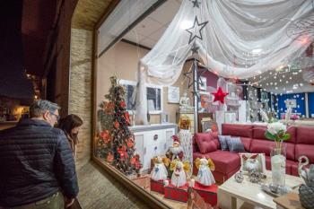 Dentro del concurso fotográfico 'Los escaparates navideños del comercio de Leganés'