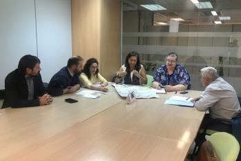 El concejal de Sostenibilidad y Movilidad, Fran Muñoz, valora positivamente el encuentro