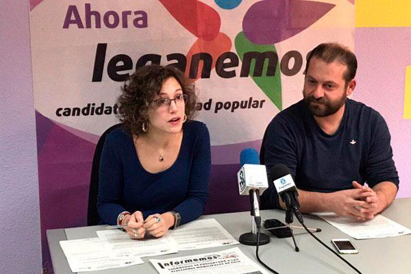 La formación asegura que es necesario poner orden en las contrataciones del Ayuntamiento de Leganés