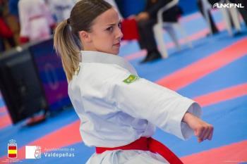 La mejor sub21 de kata ha logrado su 25º medalla en categoría absoluta
