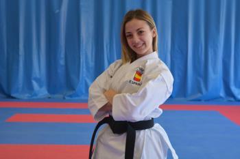 La alcalaína está considerada como la mejor karateca Sub-21 de todos los tiempos