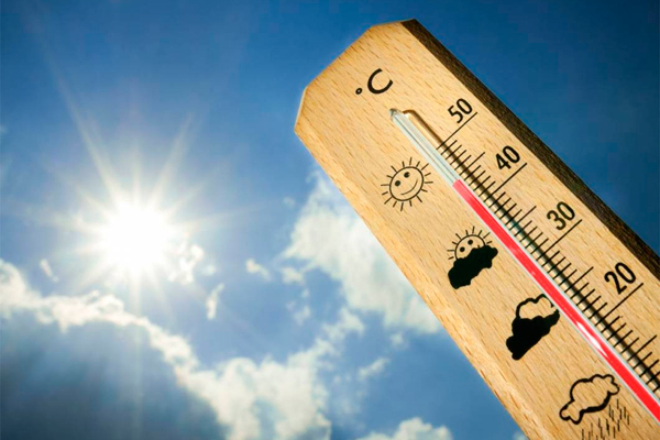 Se espera que, tanto el jueves como el viernes, las temperaturas alcancen los 38,5 grados