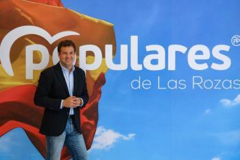La campaña del PP en Las Rozas, liderada por el portavoz del Gobierno y del PP, Gustavo Rico
