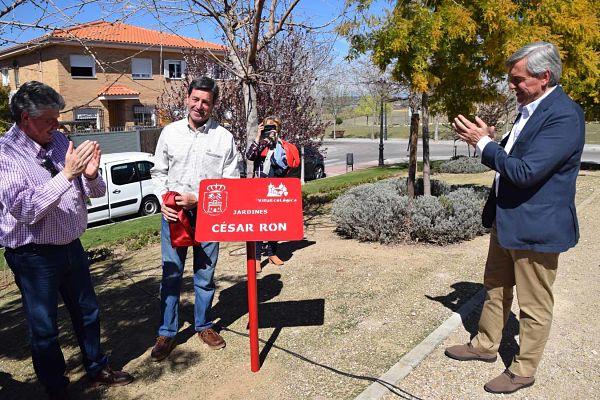 La zona verde de Avenida de España ha sido bautizada con el nombre de este trabajador municipal