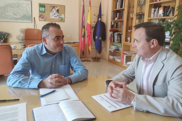 Los alcaldes de Sanfer y Coslada se reúnen