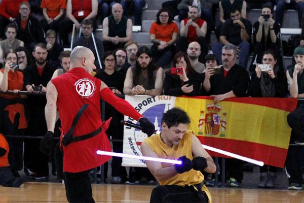 Este fin de semana se celebra el Campeonato del Mundo de Lucha con Espada Láser en la ciudad