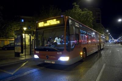 Lee toda la noticia 'Los autobuses nocturnos pararán a demanda para las mujeres de Fuenlabrada'