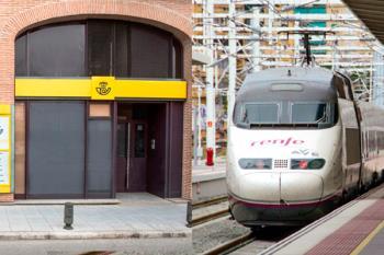 Renfe y Correos han firmado un acuerdo de colaboración para que la empresa de mensajería pueda distribuir billetes de tren a los viajeros