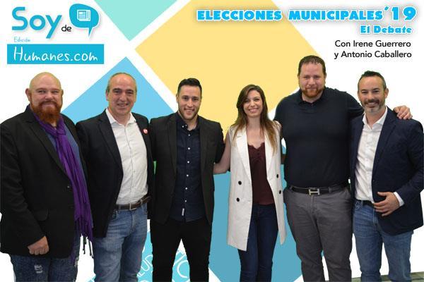 Los candidatos de Humanes de Madrid debaten en Soyde.