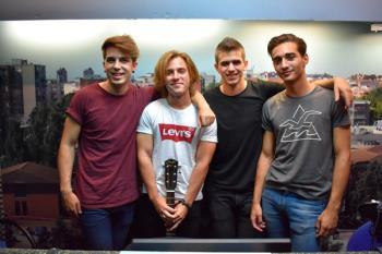 La prometedora banda estará actuando en el C.C. Loranca de Fuenlabrada el viernes 14 de julio, junto a Maldita Nerea