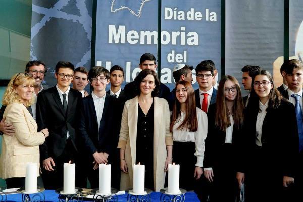 Los colegios madrileños ampliarán sus estudios sobre el pueblo judío