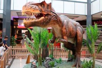 Entre el 1 y el 23 de septiembre, el centro comercial acogerá una impresionante exposición de dinosaurios