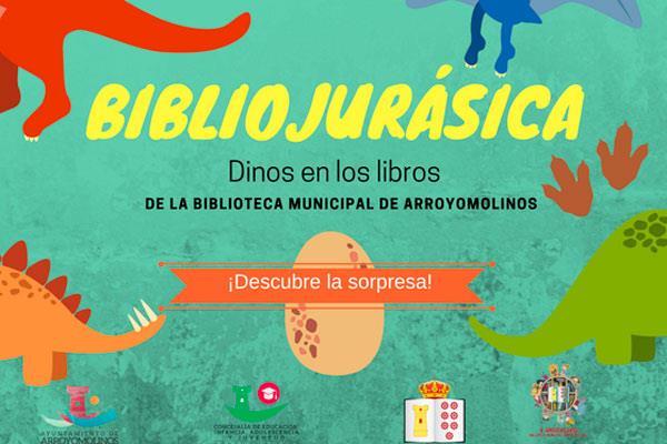 Los dinosaurios toman la Biblioteca Municipal