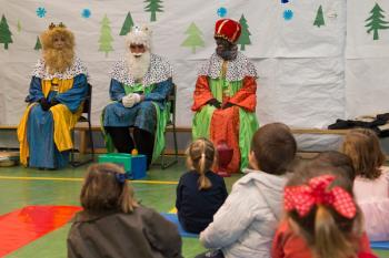 La iniciativa 'Christmas School Pozuelo' facilita la práctica del idioma entre los escolares