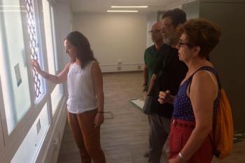 Las mejoras en iluminación, carpintería exterior, cambio de ventanas y mejoras en el Salón Polivalente tienen como fin un mayor ahorro energético